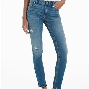 WHBM distressed jeans